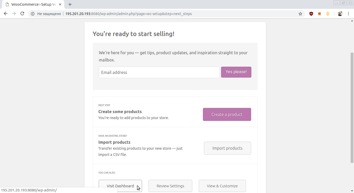 WooCommerce Installation Guide
