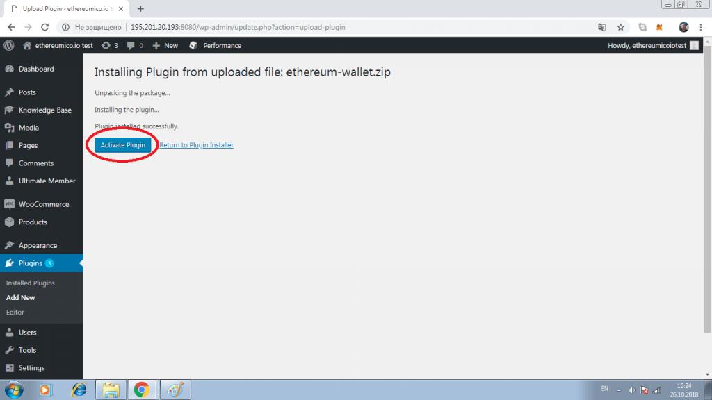 Install Ethereum Wallet