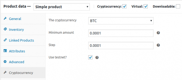 Bitcoin WordPress Plugin for WooCommerce
