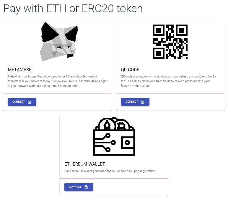 How to pay using ethereum